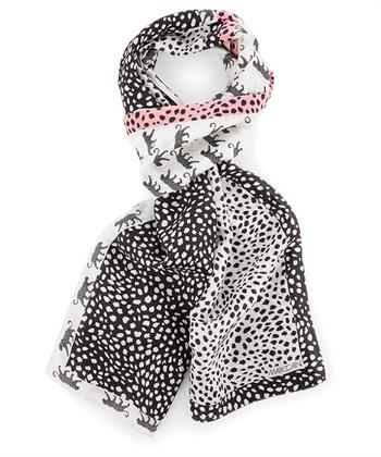 Marc Cain zijden shawl 'luipaard'
