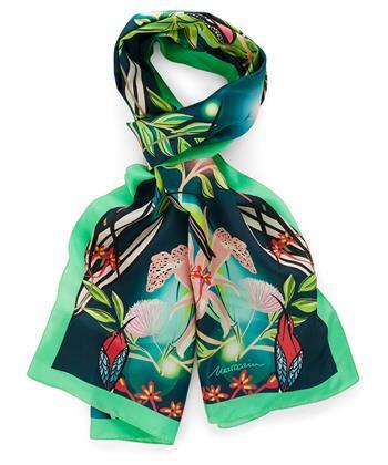 Marc Cain zijden sjaal jungleprint