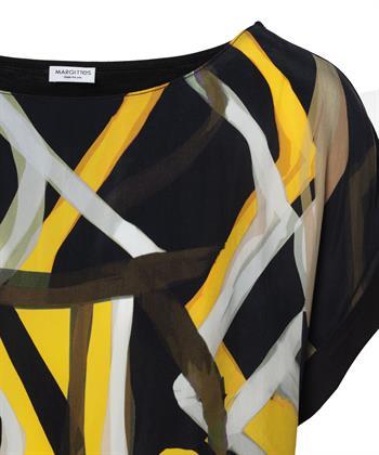 Margittes shirt grafische print
