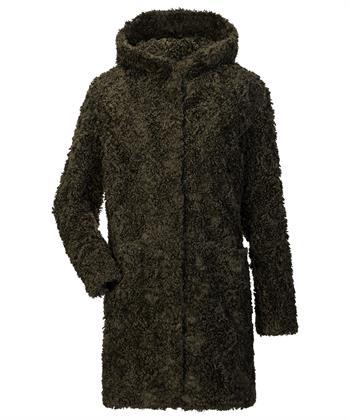 Milestone Faux fur mantel Katnis