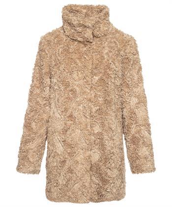 Milestone Faux fur mantel Rosalia