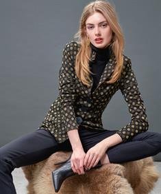 ML Collections blazer dots