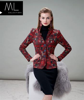 ML Collections blazer jacquard