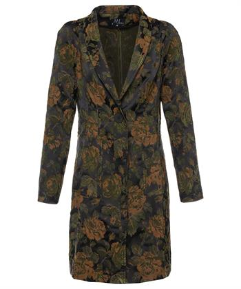 ML Collections lange blazer bloemen