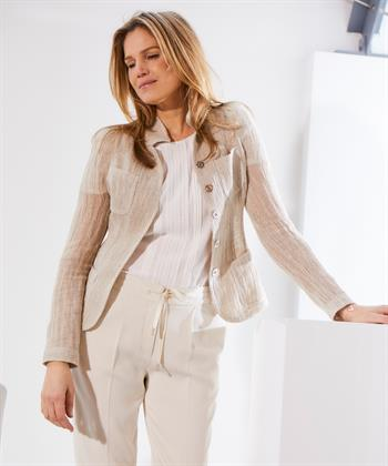ML Collections linnen blazer