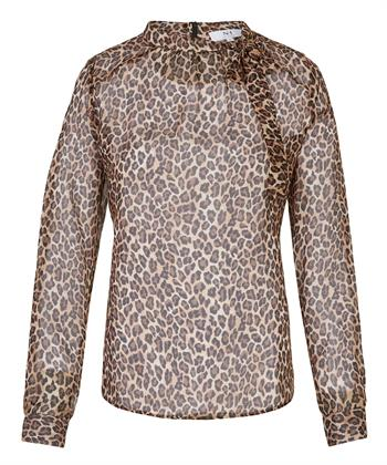 Nadine H. blouse dierprint
