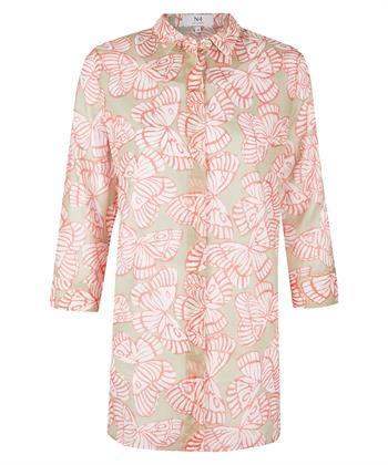 Nadine H. blouse met vlinderprint