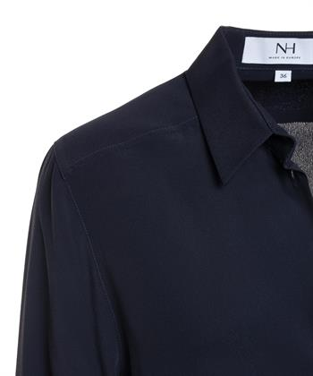 Nadine H. blouse met zijde