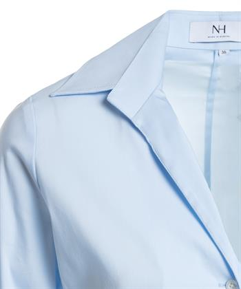 Nadine H. blouse openstaande kraag