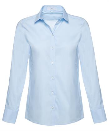 Nadine H. blouse puntkraagje
