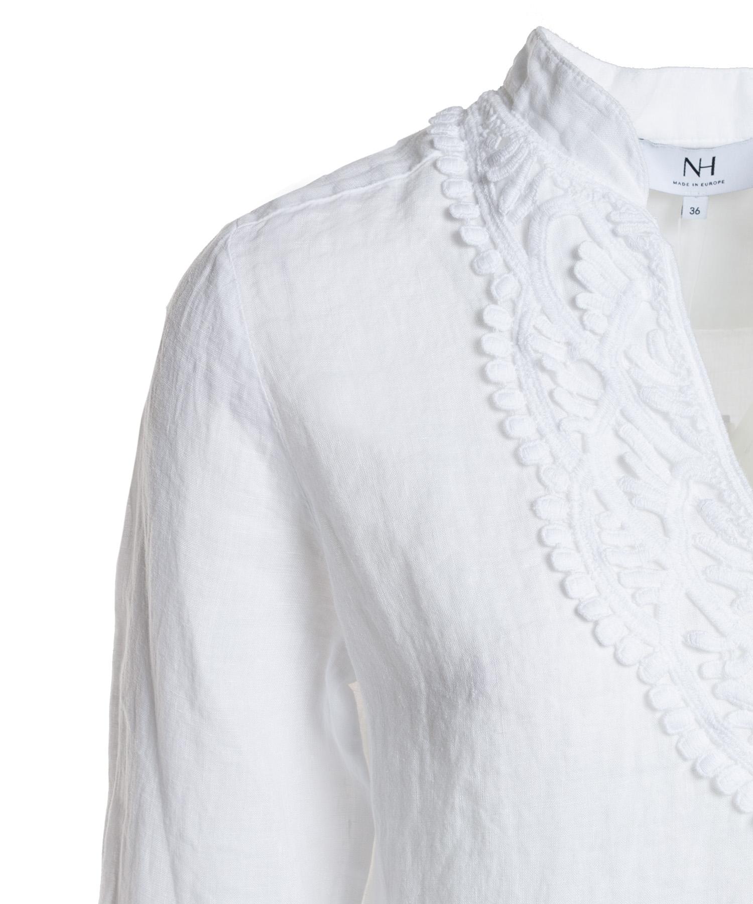 4f2b6f8d6279db Nadine H. linnen blouse
