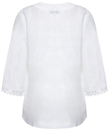 Nadine H. linnen blouse