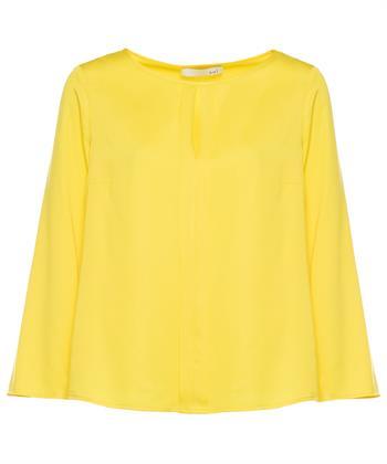 Oui blouse met platte plooien