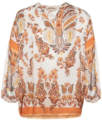 Oui blouse paisleyprint