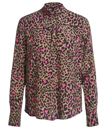 Oui blouse panterprint