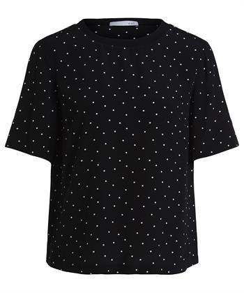 Oui blouse shirt stippen