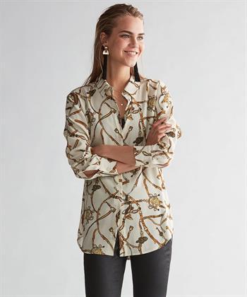 Oui blouse sieraadprint