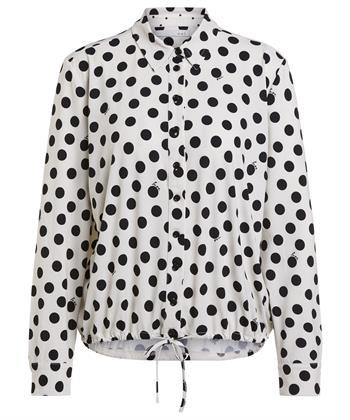 Oui blouse stippen