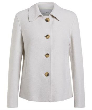 Oui cooked wool blazer/jas