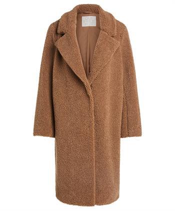 Oui mantel teddy camel