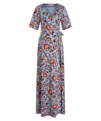 Oui maxi jurk bloemenprint