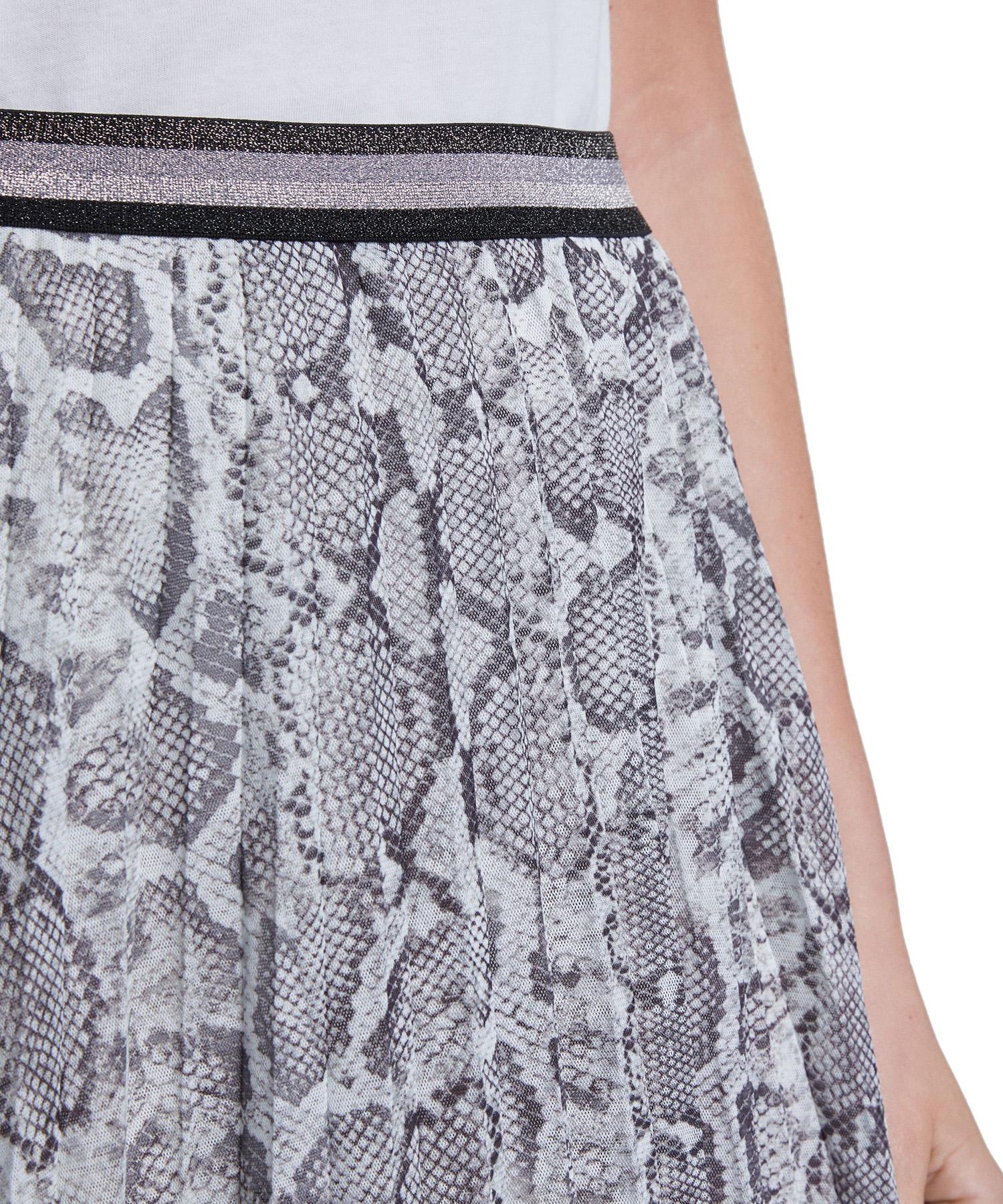 Oui mesh plissé rok snake