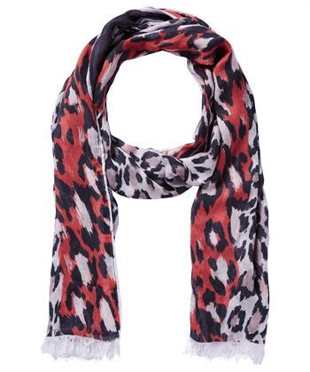 Oui shawl dierprint