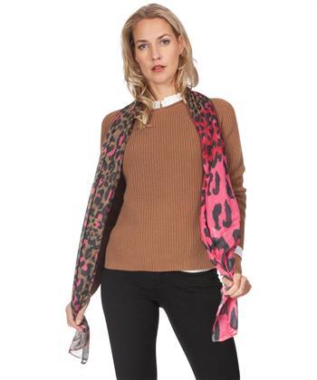 Oui shawl panterprint