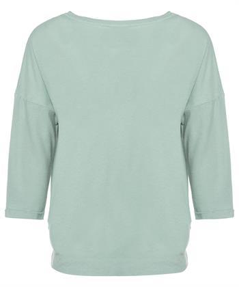Oui shirt linnenmix