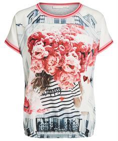 Oui shirt met fotoprint