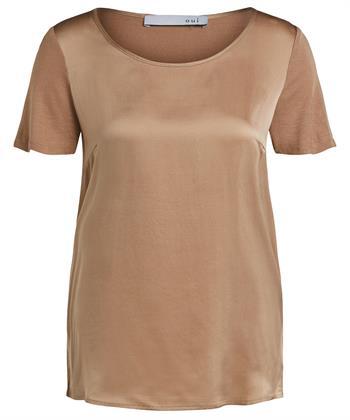 Oui shirt met zijde