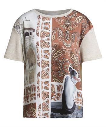 Oui shirt paisleyprint
