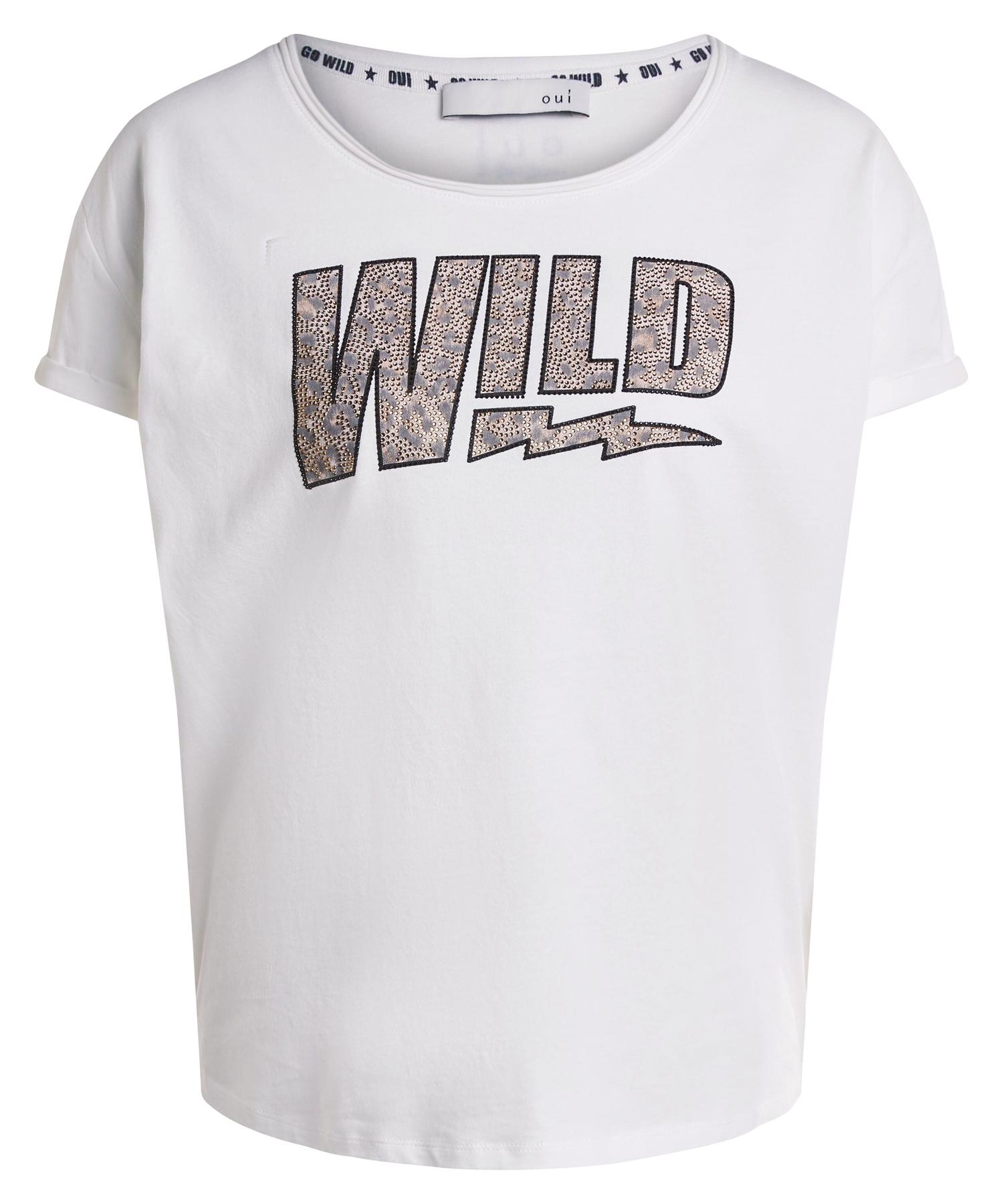 Oui shirt 'Wild'