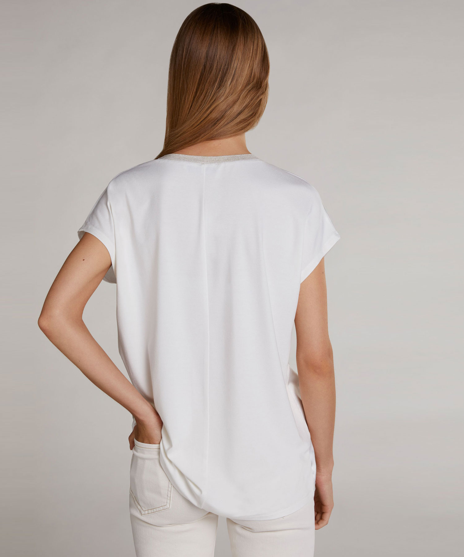 Oui shirt zijdelook