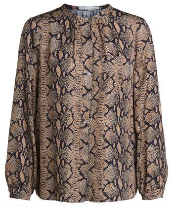 Oui snakeprint blouse