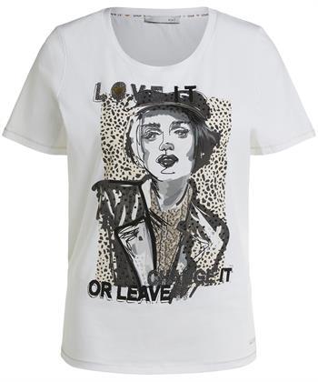 Oui t-shirt print
