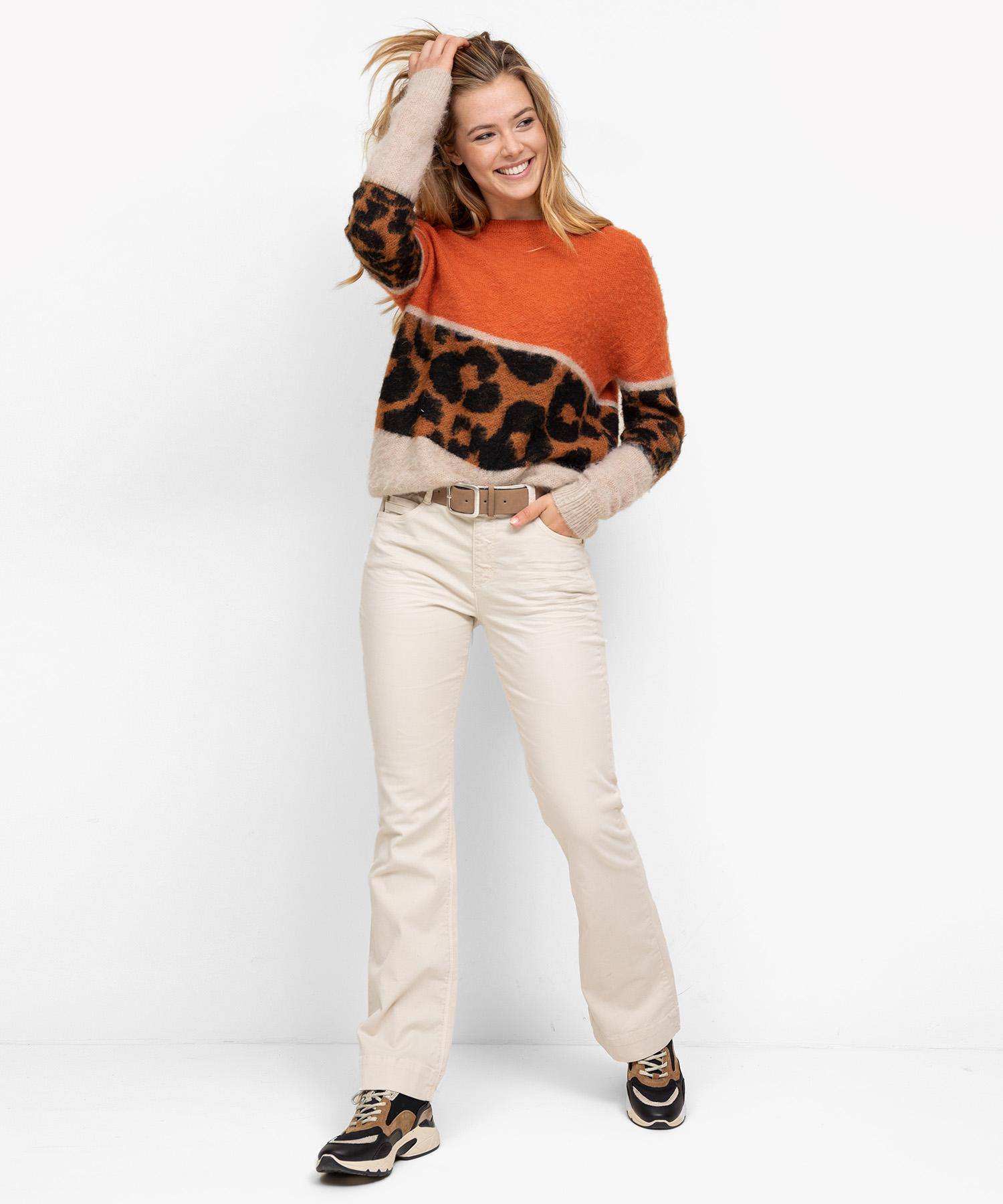 Oui trui leopard