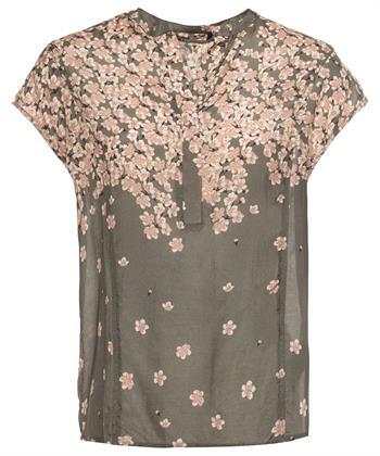 PBO blouse bloesem kapmouw