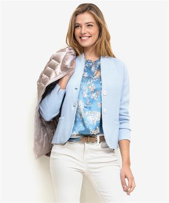PBO zijden blouse Dust met bloemen