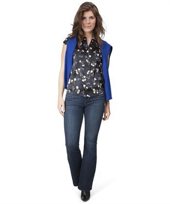 PBO zijden blouse Dust