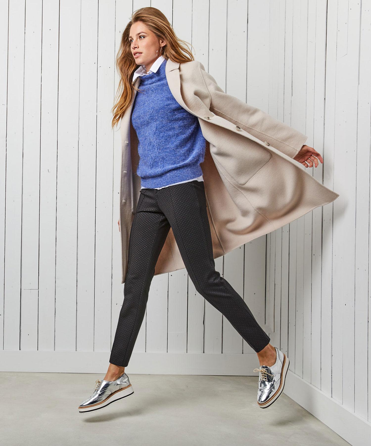 Rosner Antonia stip skinny broek