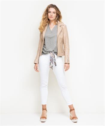 Rosner broek Alisa mid-waist slim fit