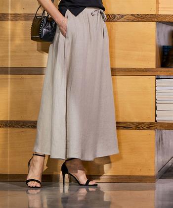 Sarah Pacini linnen rok