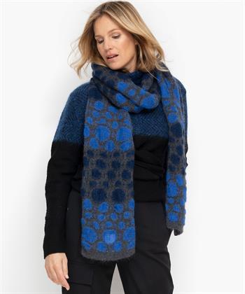 Sarah Pacini shawl grafische cirkelprint
