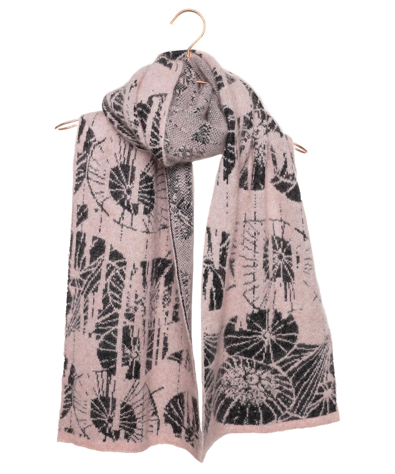 Sarah Pacini shawl grafische print