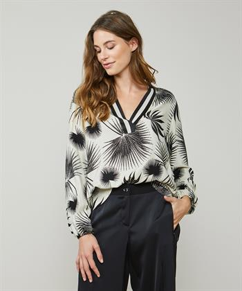 Summum blouse blaasbloemen