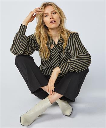 Summum blouse glitterstepen