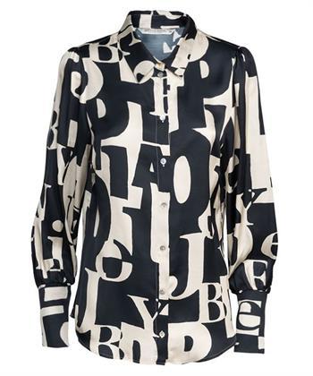 Summum blouse letterprint