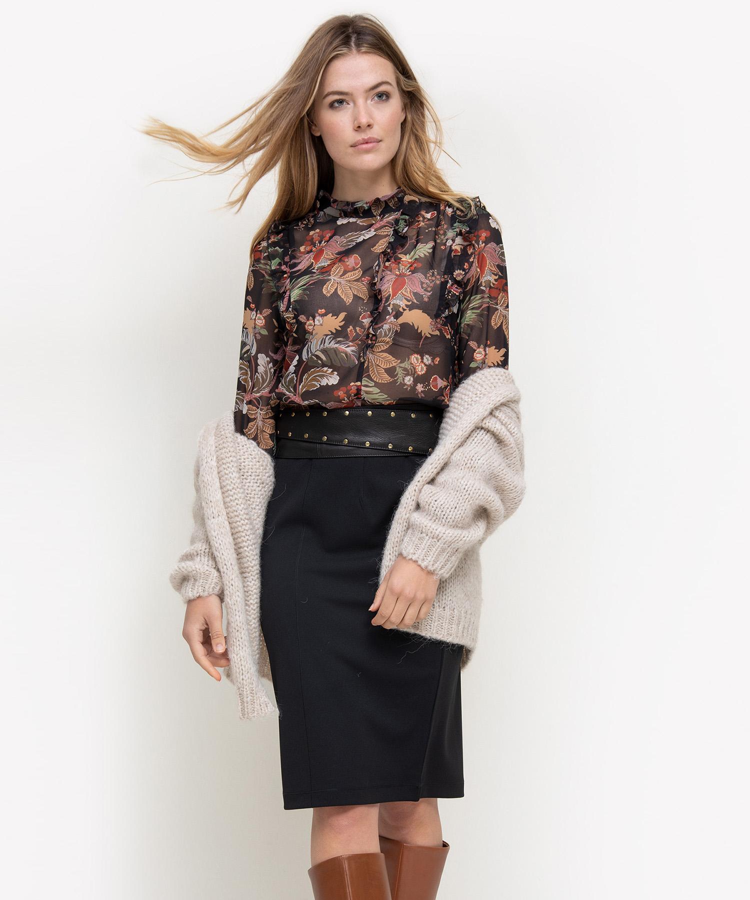 Summum blouse met bloemenprint