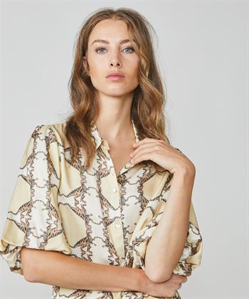 Summum blouse met dinosaurusprint